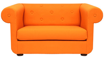 Main Image (../images/product/F9261) Compact Harlem Sofa Orange