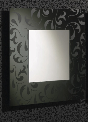 Damask Mirrors Damask square mirror black mirrors funky lifestyles main image imagesproductgb40ag damask square mirror sisterspd